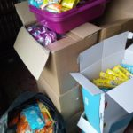 Big thanks for 120kg donation of cat food
